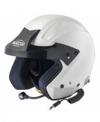 Шлем SPARCO PRO-JI Цвет: белый. Размеры:  XL (61), XXL (62).