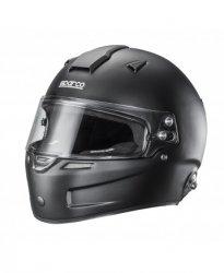 Шлем Sparco AIR PRO RF-5W Цвет: белый и черный.  Размеры: XS 53-54, S 55-56, M 57-58, M + 59, L 60, XL 61, XXL 62