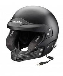 Шлем Sparco AIR PRO RJ-5. Цвета: белый и черный. Размеры: XS 53-54, S 55-56, M 57-58, M + 59, L 60, XL 61, XXL 62
