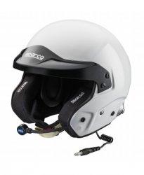 Шлем SPARCO PRO RJ-3 i. Цвет: белый.  Размеры: XS 53-54, S 55-56, M 57-58, M + 59, L 60, 61 XL, XXL 62-