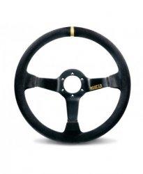 Руль спорт Sparco R 325 вынос 95мм кожа 350мм. Три спицы.